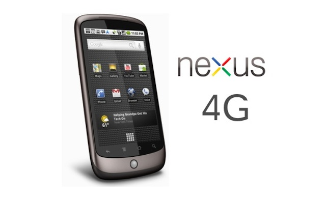 Google Nexus 4G Has Android 4.0