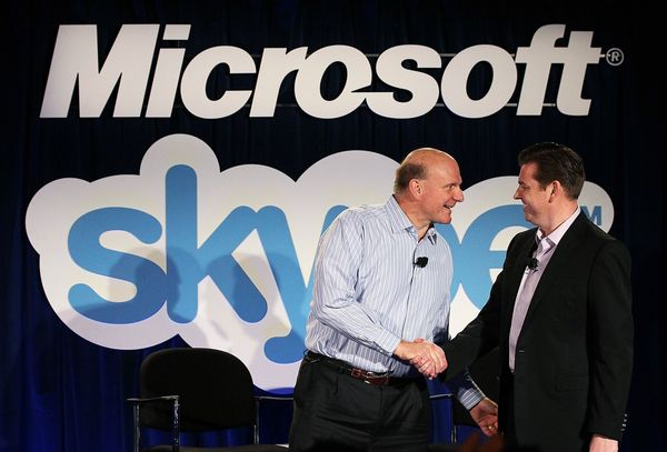 Microsoft Corp.'s purchase of Internet calling service Skype