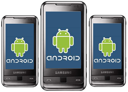 Android Smartphones by Samsung, HTC