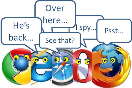browsers tested were veritable social-malware sieves
