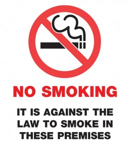 No Smoking at Public Areas