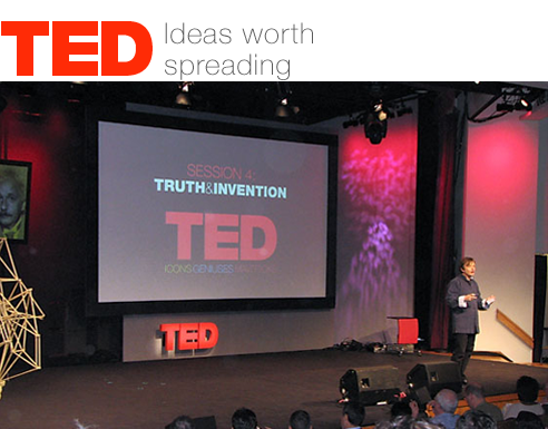 TED is a nonprofit devoted to Ideas Worth Spreading