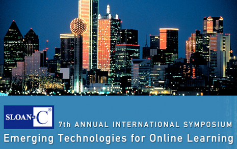 e-learning-7th-Annual-Emerging-Technologies-for-Online-Learning-International-Symposium-sloan-dallas