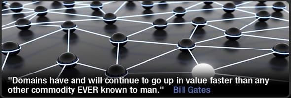 Bill Gates - Domain Name Value