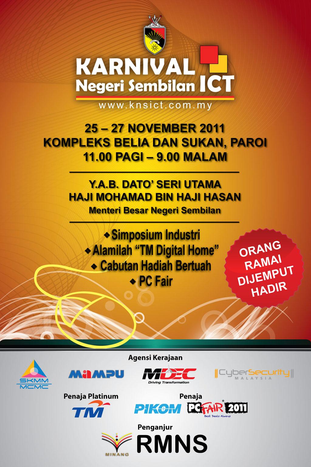 Welcome to Negeri Sembilan ICT Karnival - 2011