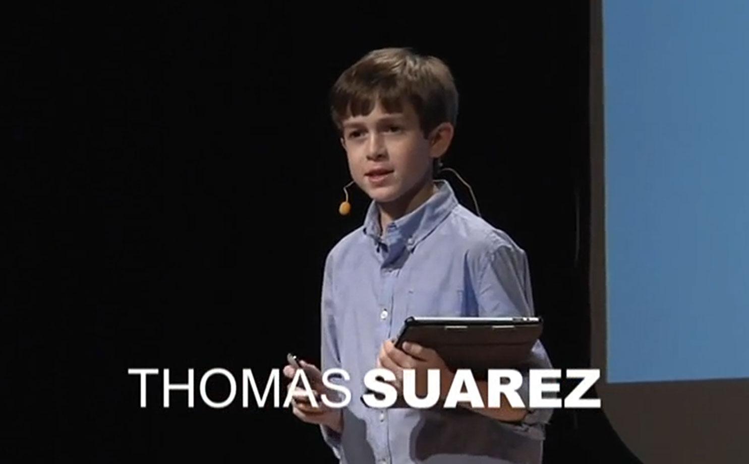 Speakers Thomas Suarez: Developer, 12 year old